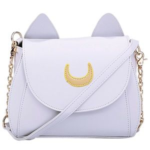 Handbags - NEW CAT HANDBAG CAT COSPLAY SAILOR MOON BAG
